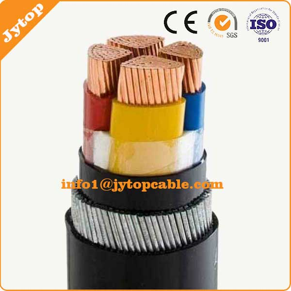 185mm 4 Core Copper XLPE Insulated PVC Sheated SAW Armoured Power Cable