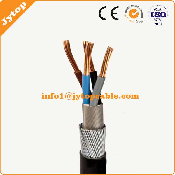 95mm 4 core PVC insulated SWA Armoured Cable