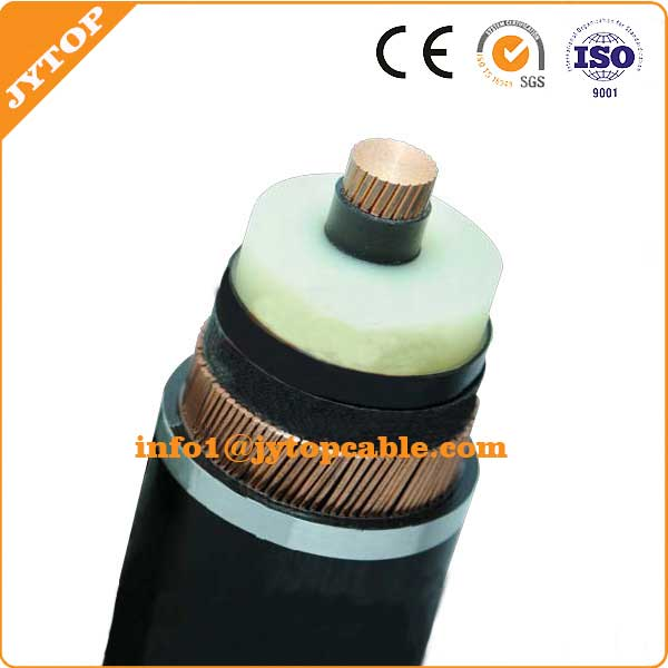 High Voltage Single Core Copper XLPE Insulated Armoured Power Cable