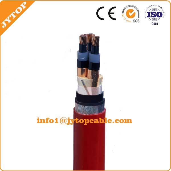 Medium Voltage XLPE Insulated SAW Armoured PVC Power Cable