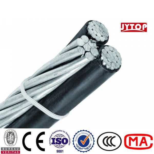 Triplex cable, Triplex wire, Triplex service drop cable