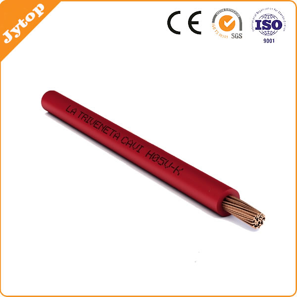 Single Core Copper Conductor PVC Insulated Flexible Cable